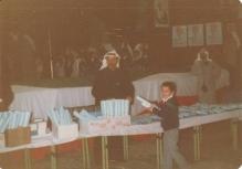 بهاء يتسلم جائزة عيد العلم في الصف الأول الابتدائي
