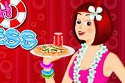 beach-waitress
