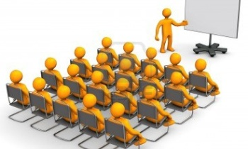 16614791-orange-cartoon-characters-sit-in-on-a-lecture