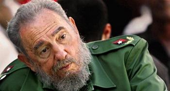 Cuban President Fidel Castro, participat