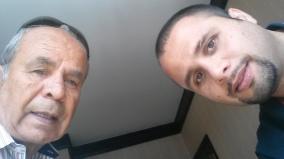 سلفي مع ابني بهاء