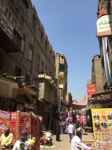 أحد الشوارع في منطقة سيدنا الحسين