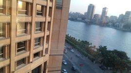من شرفة الفندق