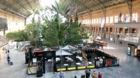 محطة القطار في مدريد