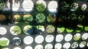 المنظر من شرفة الفندق