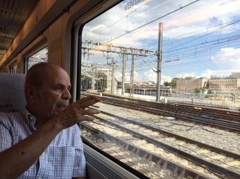 بعد انطلاق القطار إلى غرناطة