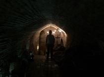 في قبو أحد البيوت في الأندلس