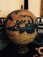 الكرة الأرضية كما رسمها علماء الأندلس