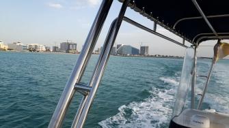 في القارب