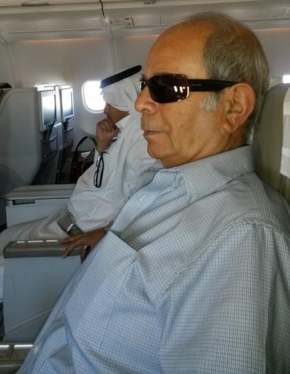 في الطائرة من الدمام إلى جــدة