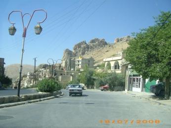مغادرين صدنايا إلى دمشق