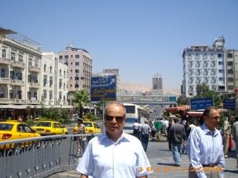 في أحد شوارع دمشق