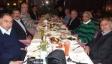 عشاء أقامه الدكتور حسام الدين الغصين على شرف معلمه وزملاؤه