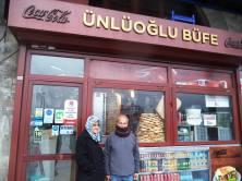 في أحد شوارع اسطنبول