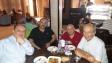 مع محمد البرغوثي وأسامة العمر ورائد أبو حويج في عمان