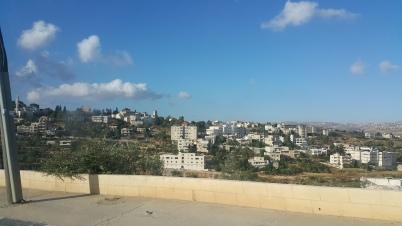 منظر عام لمدينة بير زيت