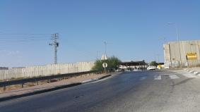 حاجز صهيوني على مدخل القدس