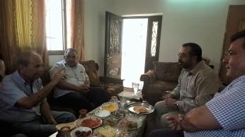 تناول الفطور في منزل د. رائد ابو دية